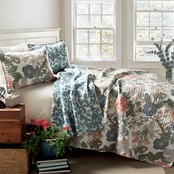 Lush Decor Sydney 3 pc. Quilt Set