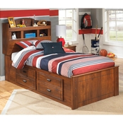 Ashley Barchan Captains with Bookcase Headboard Bed