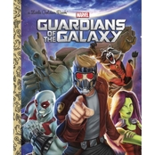 Guardians of the Galaxy: A Little Golden Book (Hardcover)