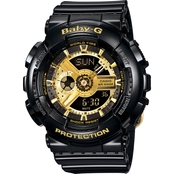 Casio Baby G-Shock 100M Tough Sport Watch 46.3mm BA110GA
