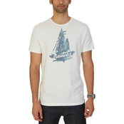 Nautica Abstract Blue Graphic Tee