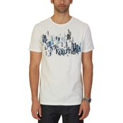 Nautica Painted City Graphic Tee