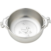 Reed & Barton Quilted Rabbit Pewter Bowl by Lenox