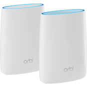 Netgear Orbi High-performance AC3000 Tri-band WiFi System, 2 Pk.