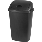 Sterilite 13.2 Gal. SwingTop Wastebasket