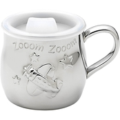 Reed & Barton Zoom Zoom Stainless Steel Baby Cup by Lenox