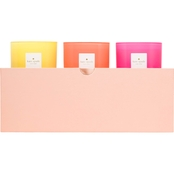 Kate Spade Live Colorfully Candle 3 Pc. Set