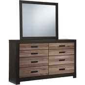 Signature Design by Ashley Harlinton Dresser and Mirror Set