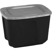 Homz 18 Gallon Storage Tote with Lid