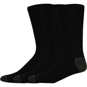 Dockers Men's 3 pk. Cushion Comfort Basic Cotton Crew Socks