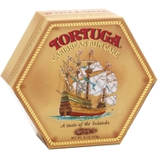 Tortuga 16 oz. Golden Original Rum Cake with Walnuts
