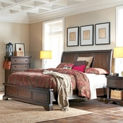 aspenhome Bancroft Collection Sleigh Bed