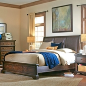 aspenhome Bancroft Collection Panel Bed