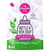 Dapple Fragrance Free Bottle and Dish Liquid Refill