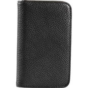 Buxton Hudson Pik Me Up RFID Snap Card Case