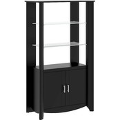 Bush Aero 2-Door Tall Library Storage