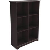 Bush Cabot 6 Cube Bookcase