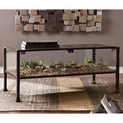 Southern Enterprises Terrarium Display Cocktail Table