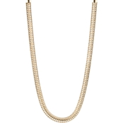 Anne Klein Flat Chain Collar Necklace