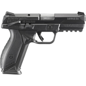 Ruger American 9mm 4.2 in. Barrel 17 Rnd 2 Mag Pistol Black with Thumb Safety