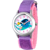 Disney Finding Dory Nemo and Dory Stainless Steel Time Teacher Watch W003094