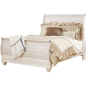 Signature Design by Ashley Willowton Sleigh Bed