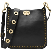 Michael Kors Jenkins Stud Sullivan Medium North South Messenger