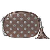 Michael Kors Ginny Studded Medium Messenger