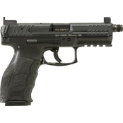 HK VP9 Tactical 9MM 4.7 in. Threaded Barrel 15 Rds 3-Mags NS Pistol Black