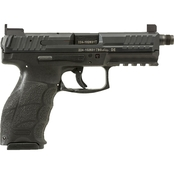 HK VP9 Tactical 9MM 4.7 in. Threaded Barrel 10 Rds 3-Mags NS Pistol Black