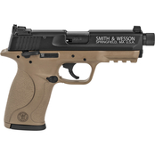 S&W M&P 22 LR 3.5 in. Barrel 10 Rnd 2 Mag Pistol Flat Dark Earth