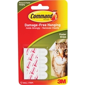 Command Poster Strips 12pk.