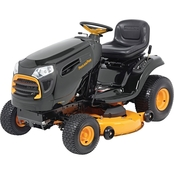 Poulan Pro Briggs & Stratton 20HP Pedal Control Automatic Drive 46 in. Riding Mower