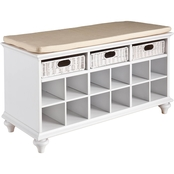 Southern Enterprises Entryway/Shoe Bench