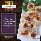 The Perfect Bite Co. Fig Apple & Onion Jam Pastry Kisses