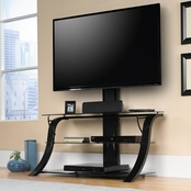 Sauder Panel TV Stand with Mount