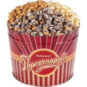 Popcornopolis Gourmet Popcorn Two Gallon Tin