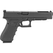 Glock 34 MOS Gen 4 9MM 5.31 in. Barrel 10 Rds 3-Mags Pistol Black US Mfg