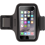 Griffin Trainer Plus Armband for iPhone 6 or 6s Black/Gray