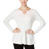 Thalia Peplum Sweater