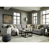 Benchcraft Cresson 4 Pc. Sectional LAF Cuddler/ RAF Loveseat