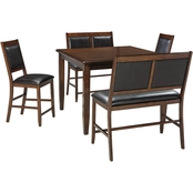 Signature Design by Ashley Meredy 5 Pc. Counter Height Dining Set