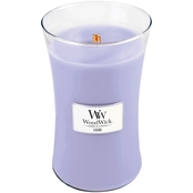 WoodWick Lilac 22 oz. Hearthwick Flame Candle