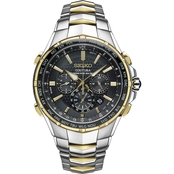 Seiko Men's Coutura Radio Sync Solar Watch SSG010