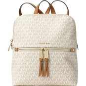 Michael Kors Rhea Zip Medium Slim Backpack