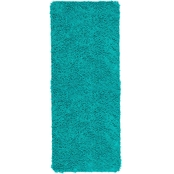 Lavish Home Memory Foam Shag Bath Mat