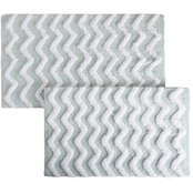 Lavish Home 2 Pc. Chevron Bath Mat Set