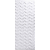 Lavish Home Chevron Bath Mat