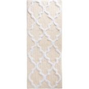 Lavish Home Trellis Bath Mat