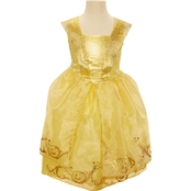 Disney Little Girls Beauty and the Beast Belle's Ball Gown Costume